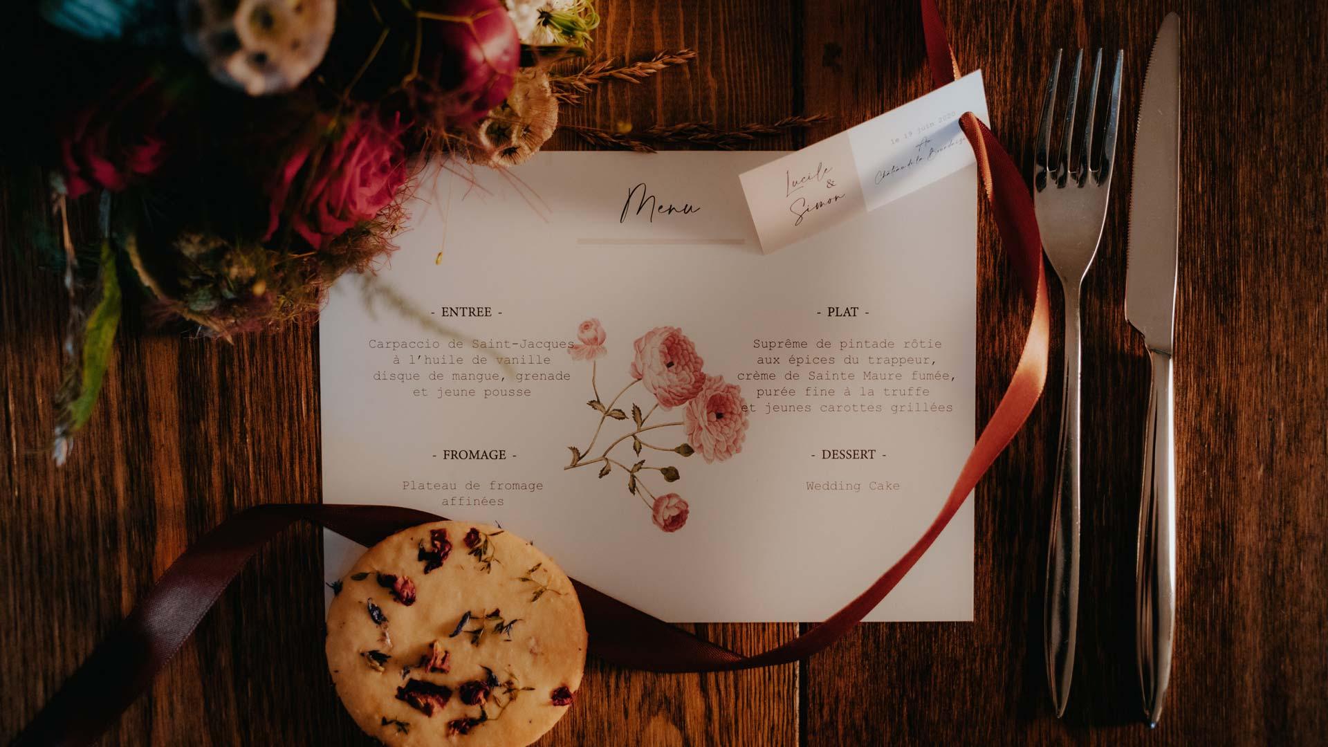 flat lay - wedding planner