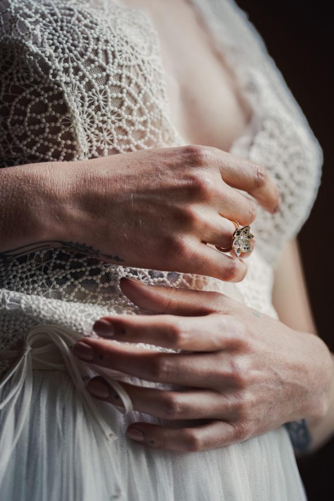 mariage bohème et moody